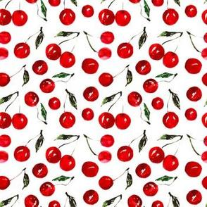 Very cherry, Watercolor