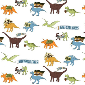 Dinosaur Activists