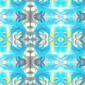 Turquoise slate maze