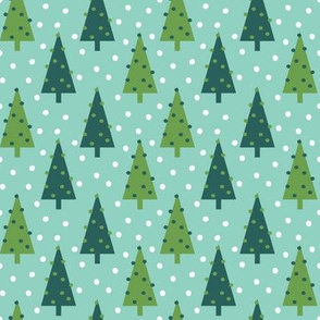 christmas trees holiday xmas mint and green holiday xmas