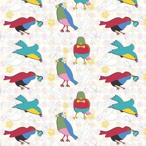 Summer Birds multi