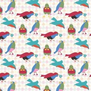 Cheeky Summer Birds
