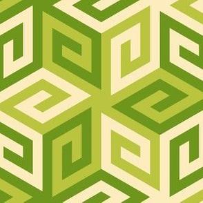 05636775 : greek cube : green apples