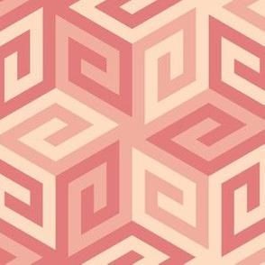 05636998 : greek cube : trendy1 blush pink