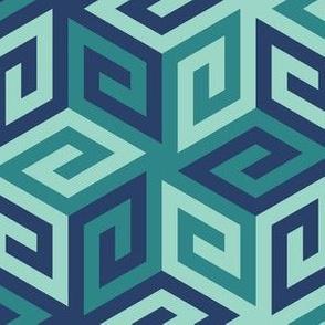 05637000 : greek cube : trendy2 muted blue