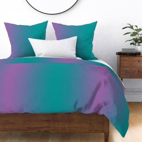 Fabric by the Yard Ombre Teal and Purple