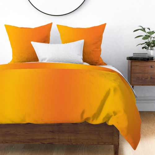 Fabric by the Yard Ombre Orange and Gold or Yellow