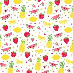 fruity mix plus :: fruity fun lemons strawberries pineapples watermelons