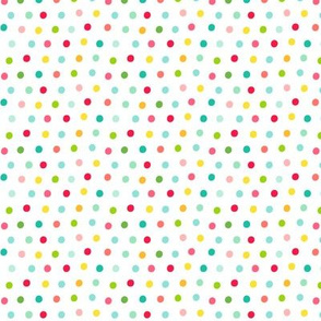 rainbow dots :: fruity fun