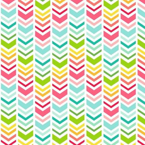 rainbow chevron arrows :: fruity fun bigger
