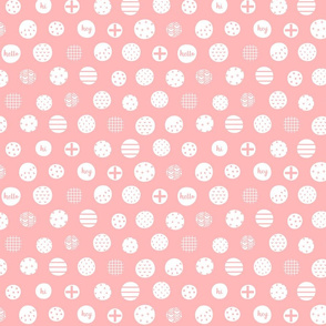 hello hi hey light pink :: fruity fun