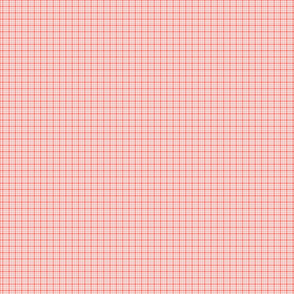 plaid coral :: fruity fun