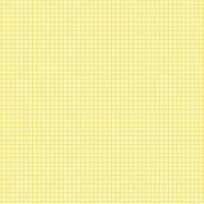plaid yellow :: fruity fun