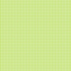 plaid lime green :: fruity fun