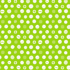 hello hi hey lime green :: fruity fun
