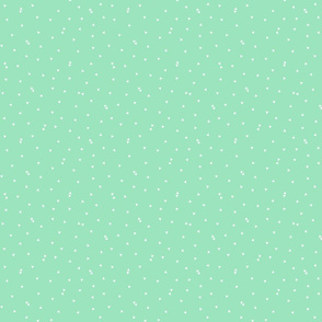 triangle confetti mint green :: fruity fun