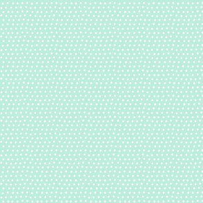 dots light teal :: fruity fun