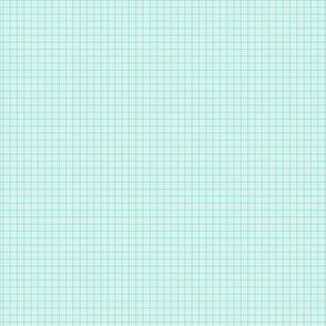 plaid sky blue :: fruity fun