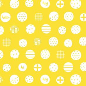 hello hi hey yellow :: fruity fun bigger