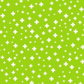 positive plus lime green :: fruity fun bigger