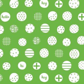 hello hi hey green :: fruity fun bigger