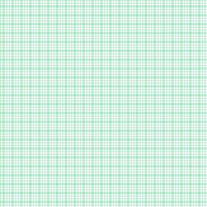 plaid mint green :: fruity fun bigger