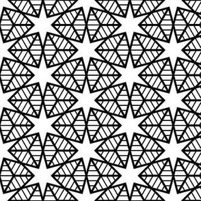 00563869 © R6E2r web of stars : black on white