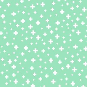 positive plus mint green :: fruity fun bigger
