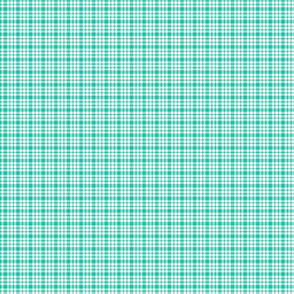 plaid teal :: fruity fun bigger