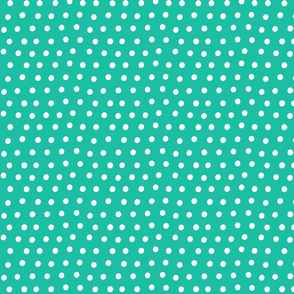 dots teal :: fruity fun bigger
