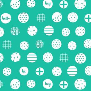 hello hi hey teal :: fruity fun bigger