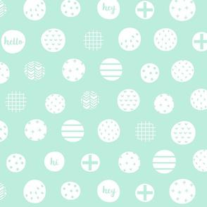 hello hi hey light teal :: fruity fun bigger