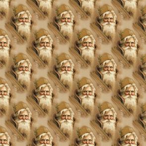 Santa Claus Old World -Small Print