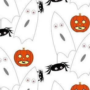 Pumpkins and Spiders and Ghosts Oh My. Original