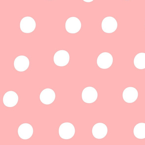 dots light pink :: fruity fun huge