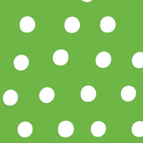 dots green :: fruity fun huge