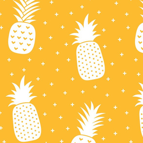 pineapples + orange :: fruity fun huge
