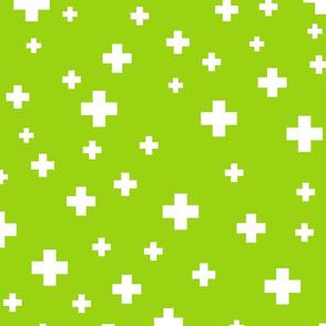 positive plus lime green :: fruity fun huge