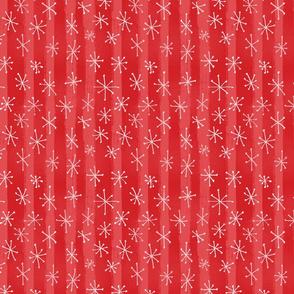 Vintage Holiday Sparkles - Cinnamon Red