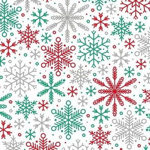 Season of Snow (Red, Green and Silver)