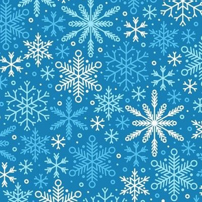 Season of Snow (Blue)