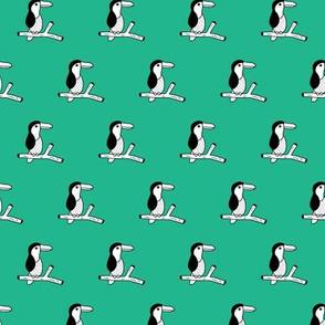 Pura vida tropical birds collection toucan jungle animals fall summer green