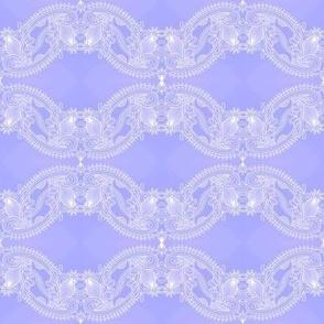 lavender blue lace wave