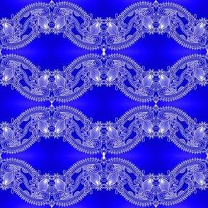high blue lace wave