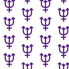 Neptune in Violet