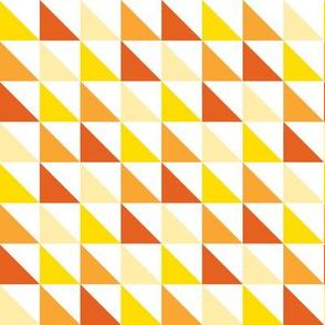 Triangles-Orange
