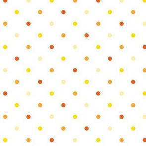 Polka dots-Orange