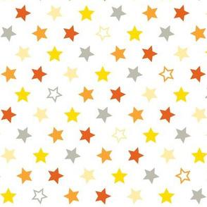 Stars-Orange