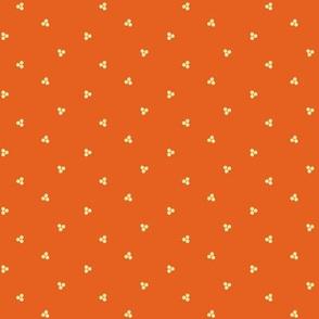 Ditsy-Orange