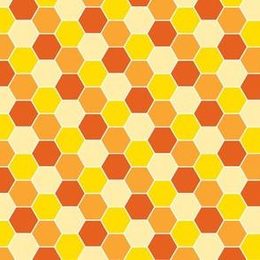 Honeycomb-Orange
